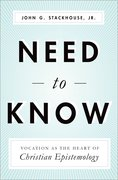 Cover for Need to Know