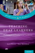 Cover for Teaching Deaf Learners