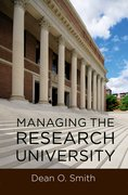 Cover for Managing the Research University