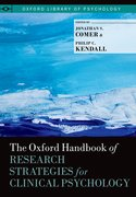 Cover for The Oxford Handbook of Research Strategies for Clinical Psychology