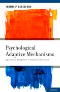 Cover for Psychological Adaptive Mechanisms