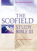 Cover for The Scofield Study Bible III, NKJV, Large Print Edition