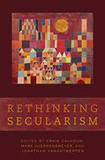 Cover for Rethinking Secularism
