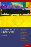 Cover for Research Ethics Consultation