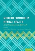Cover for Modern Community Mental Health