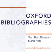 Cover for Oxford Bibliographies