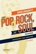 Cover for The Pop, Rock, and Soul Reader