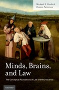 Cover for Minds, Brains, and Law