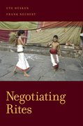 Cover for Negotiating Rites