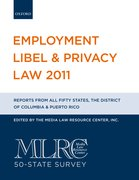 Cover for Employment Libel & Privacy Law 2011