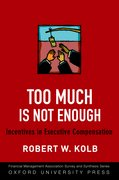 Cover for Too Much Is Not Enough