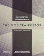 Cover for Operation and Modeling of the MOS Transistor, Third Edtion International Edition