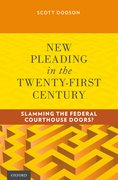 Cover for New Pleading in the Twenty-First Century