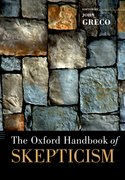 Cover for The Oxford Handbook of Skepticism