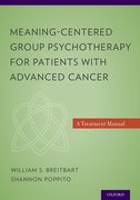Cover for Meaning-Centered Group Psychotherapy for Patients with Advanced Cancer