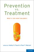 Cover for Prevention vs. Treatment
