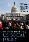 Cover for Oxford Handbook of U.S. Social Policy