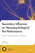 Cover for Secondary Influences on Neuropsychological Test Performance