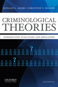 Cover for Criminological Theories