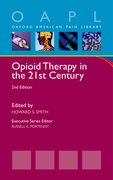 Cover for Opioid Therapy in the 21st Century