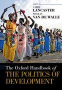Cover for The Oxford Handbook of the Politics of Development
