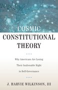 Cover for Cosmic Constitutional Theory