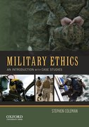 Cover for Military Ethics