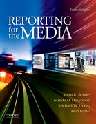 Cover for Reporting for the Media