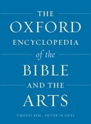 Cover for The Oxford Encyclopedia of the Bible and the Arts