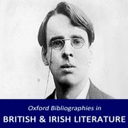 Cover for Oxford Bibliographies in British and Irish Literature