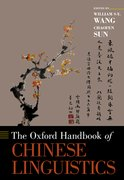 Cover for The Oxford Handbook of Chinese Linguistics