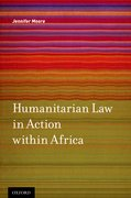 Cover for Humanitarian Law in Action within Africa