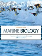 Cover for Marine Biology