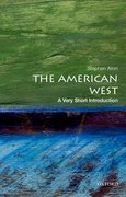 Cover for The American West: A Very Short Introduction