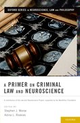 Cover for A Primer on Criminal Law and Neuroscience