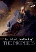 Cover for The Oxford Handbook of the Prophets