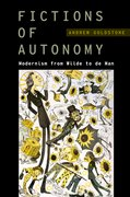 Cover for Fictions of Autonomy