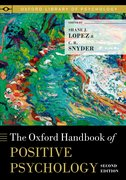 Cover for The Oxford Handbook of Positive Psychology