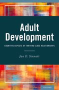 Cover for Adult Development