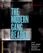 Cover for The Modern Gang Reader