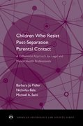 Cover for Children Who Resist Postseparation Parental Contact