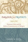 Cover for Paradox and the Prophets