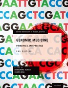 Cover for Genomic Medicine