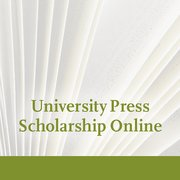 Cover for University Press Scholarship Online