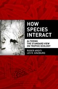 Cover for How Species Interact