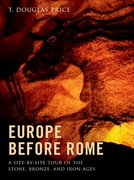 Cover for Europe before Rome