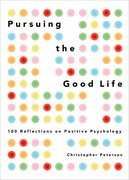 Cover for Pursuing the Good Life