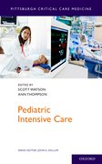 Cover for Pediatric Intensive Care