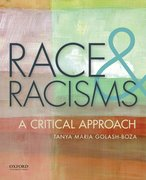 Cover for Race and Racisms