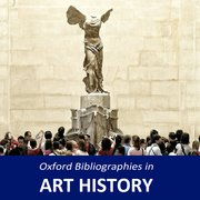 Cover for Oxford Bibliographies in Art History